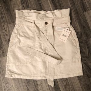 Free People NWT Skirt Size 4 in Oatmeal